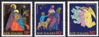 New Zealand SG1376-1378 1985 Christmas set 3v complete mounted mint